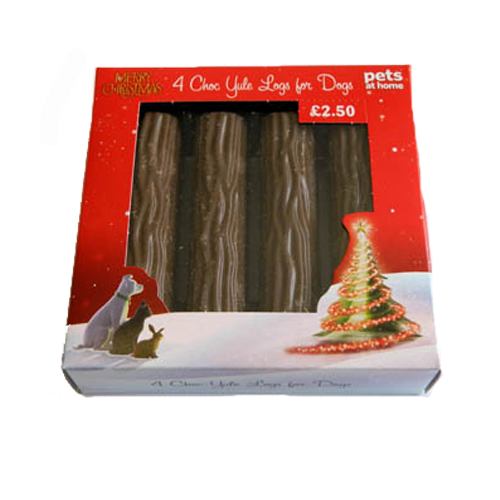 yule log for dogs